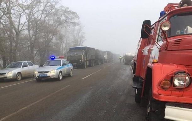 У ДТП в Росії загинули вісім осіб