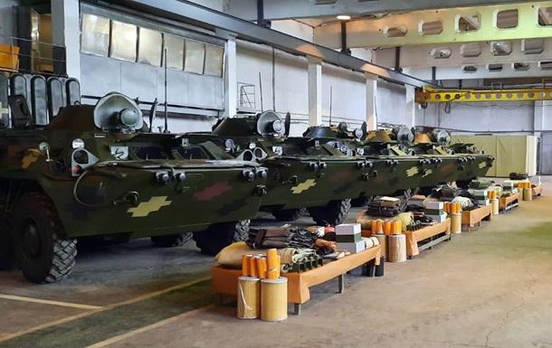 ВСУ получили партию восстановленных БТР-80