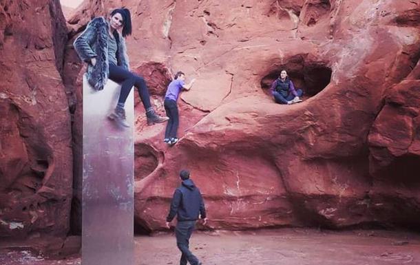 В пустыне Юты исчез загадочный обелиск