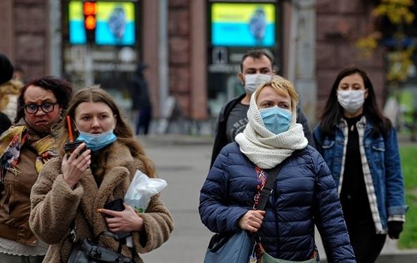 В Украине резкий спад числа зараженных COVID-19