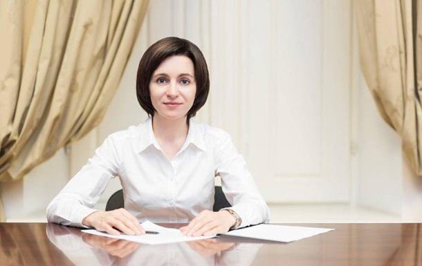 Майя Санду назвала возможные сроки визита в Украину