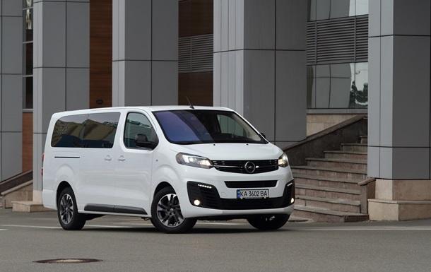 Вищий пілотаж: новий Opel Zafira Life