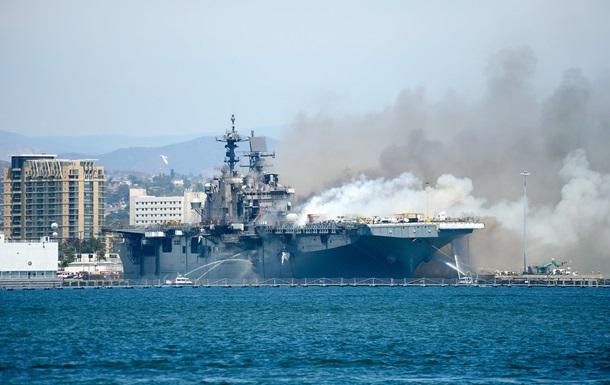 Выгоревший корабль ВМС США Bonhomme Richard решили списать