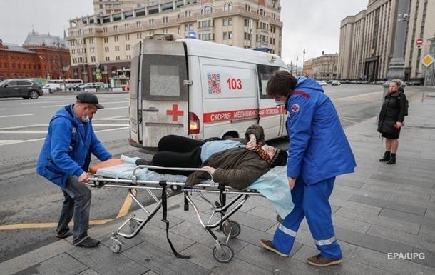 В России рекорд смертности от коронавируса