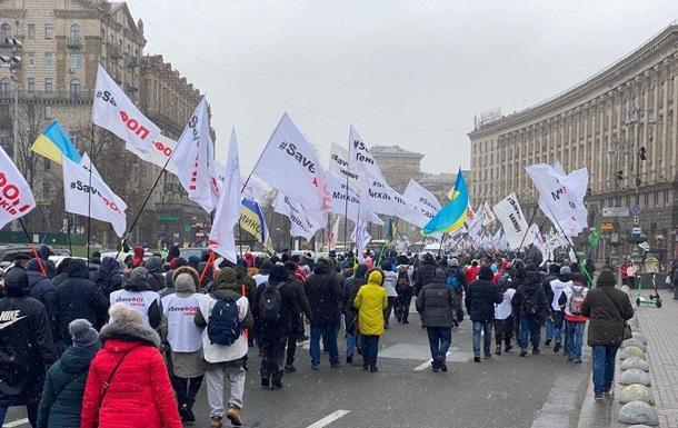 ФОПовцы намерены продолжить протесты под Радой