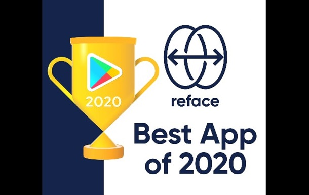 Ukrainian app Reface has entered the top of Google Play