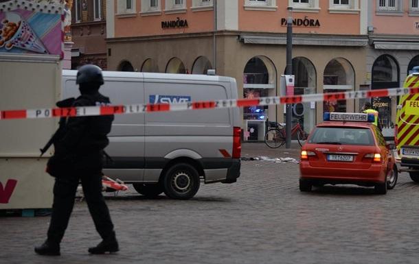 Наезд на людей в Германии: число жертв удвоилось