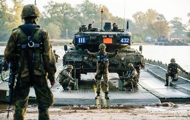 Міністр оборони представив план багатонаціональних навчань для ЗСУ