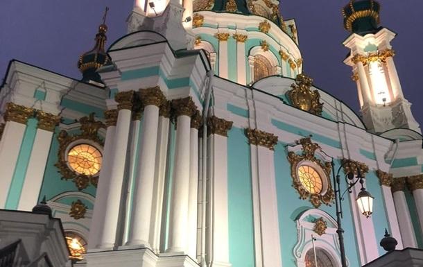 Андріївську церкву відкривають для парафіян після п яти років реставрації