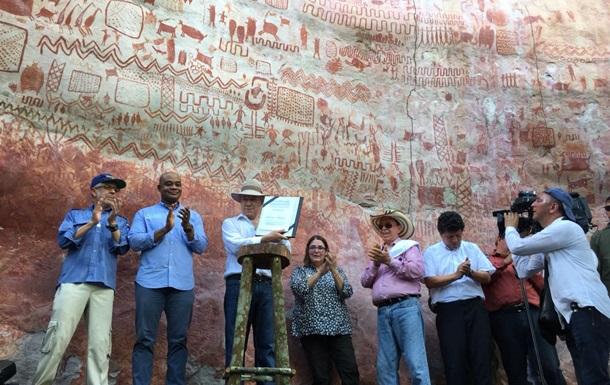 В Колумбии нашли тысячи древних рисунков на скалах