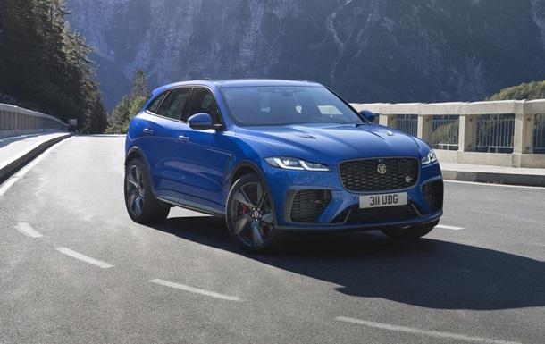 Jaguar представил новый хэтчбек F-Pace SVR