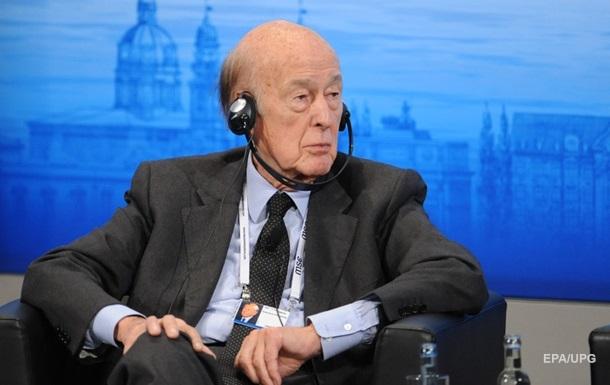Від коронавірусу помер колишній президент Франції Валері Жискар д Естен