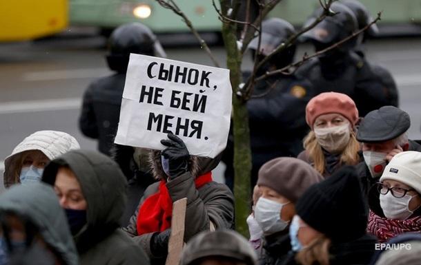 Протести в Білорусі розганяють екс- беркутівці  - ЗМІ