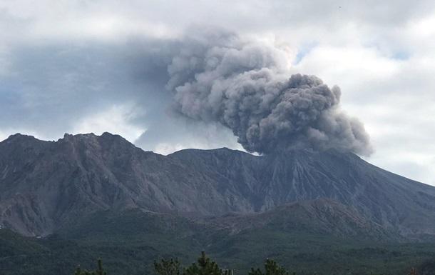 В Японії стався вибух вулкана