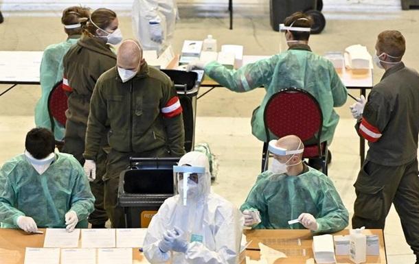В Австрії почалося масове тестування на коронавірус