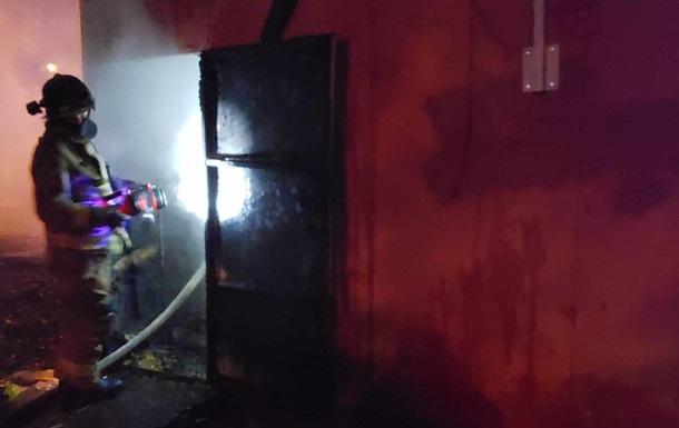 В Одесі сталася пожежа в магазині місцевого депутата