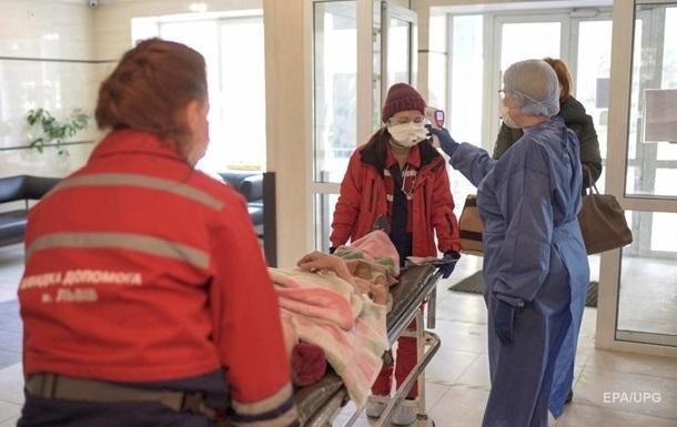 В Украине уже больше 800 тысяч случаев COVID-19