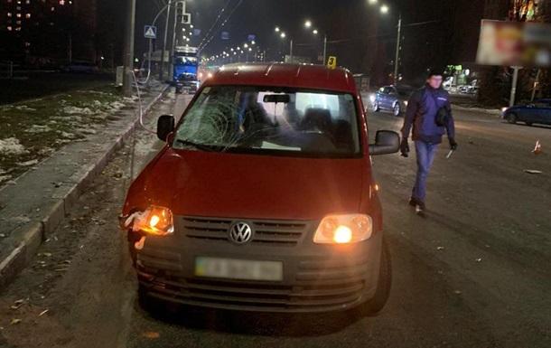 В Черкассах водитель сбил пенсионерку с внуком