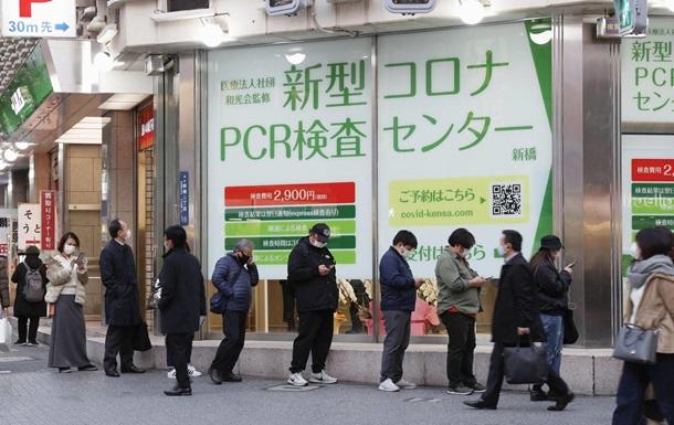 В Токио - антирекорд по числу случаев COVID-19 за сутки