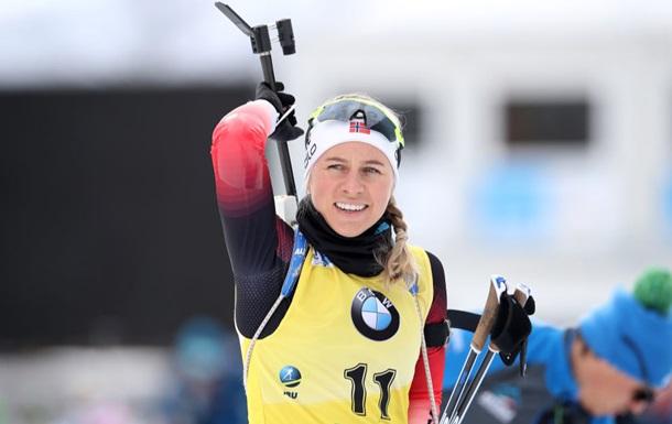 Экхофф выиграла пасьют в Контиолахти, Блашко финишировала 12-й