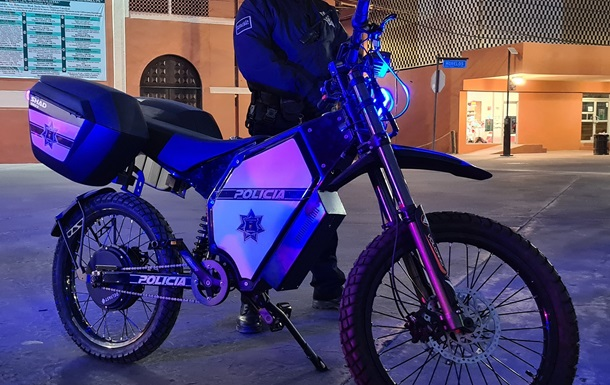 Mexican police began using Ukrainian electric bicycles