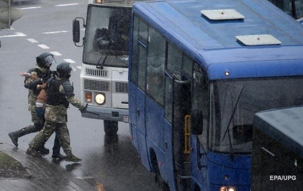 В столице Беларуси задержали более 300 человек - МВД