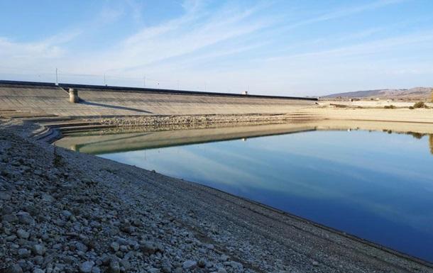 В водохранилище для Симферополя воды осталось на восемь дней
