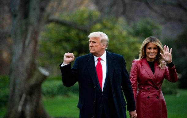 Меланія Трамп вразила стильним образом