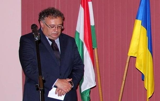 Посол Венгрии прокомментировал слова о 'гражданской войне на Закарпатье'