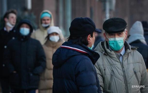 У Росії кількість випадків COVID-19 перевищила 2,5 млн