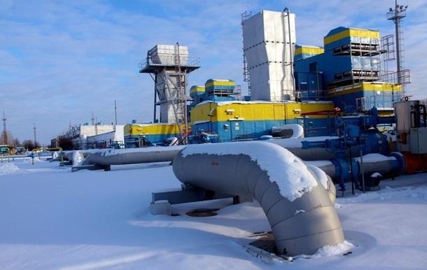 Транзит газа Украиной упал почти вдвое