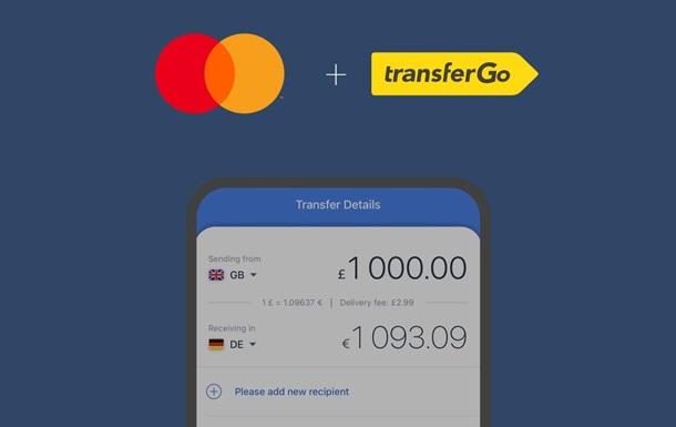 TransferGo и Mastercard объявляют о партнерстве в сфере международных переводов