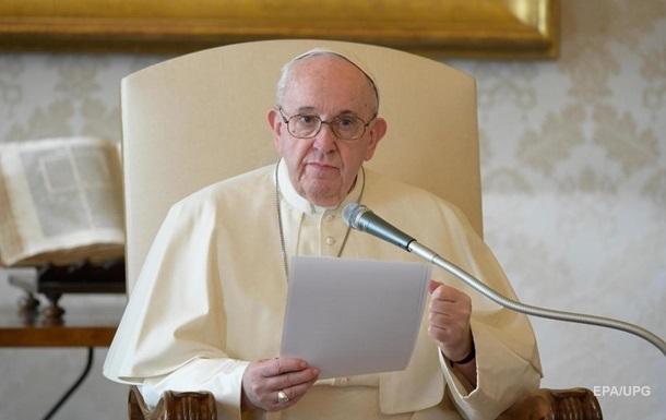 Папа Франциск анонсировал специальные индульгенции из-за COVID-19