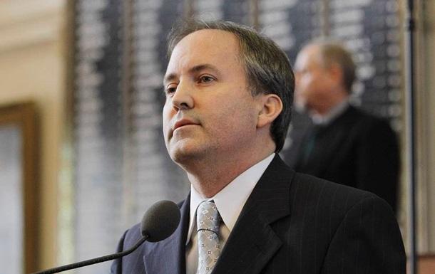 Генпрокурор Техаса попросил суд отменить итоги выборов в четырех штатах
