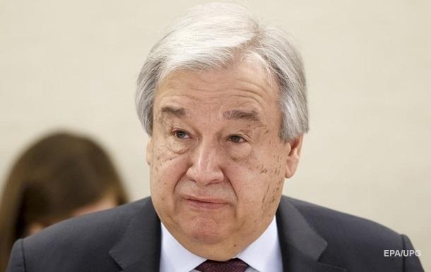 Генсек ООН отреагировал на смерть украинского миротворца в Конго