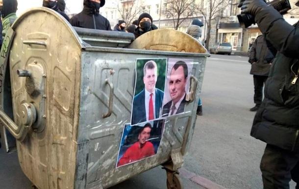 У Харкові почалися протести під мерією