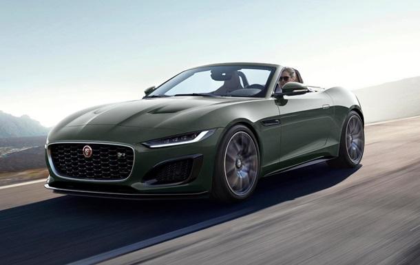 Jaguar выпускает 60 авто класса люкс к юбилею