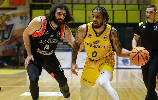 Суперлига: Киев-Баскет без трех ведущих игроков обыграл Черкасских Мавп