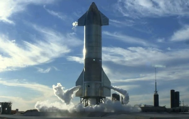 Прототип корабля Starship вибухнув під час випробувань