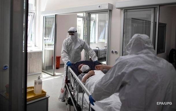 В Україні рекорд за госпіталізаціями COVID-хворих