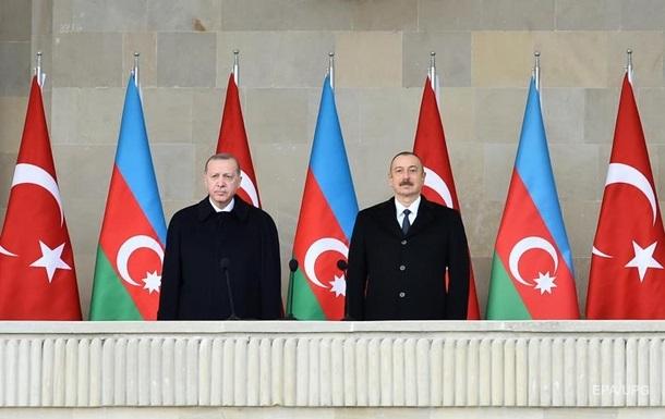 Алиев назвал часть Армении землями Азербайджана