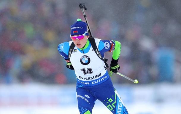Биатлон: Алимбекова сенсационно выиграла спринт в Хохфильцене, Джима и Блашко - в ТОП-25