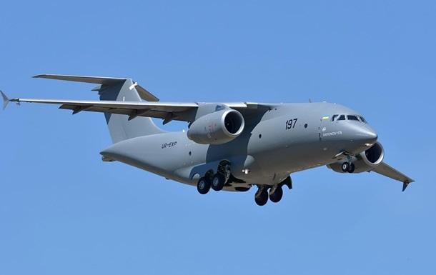 Міноборони замовило три літаки Ан-178