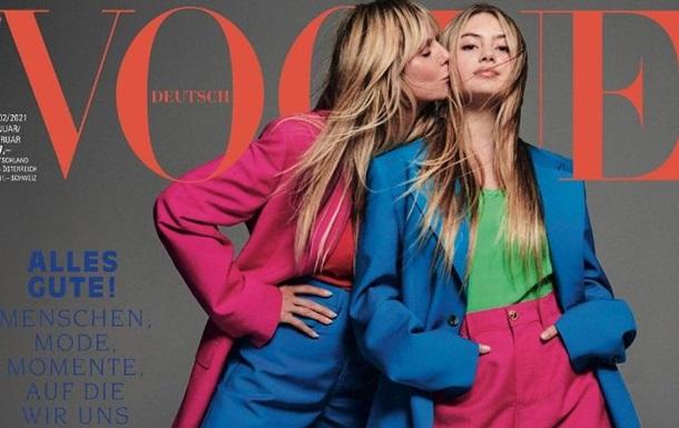 Дочь Хайди Клум дебютировала на обложке журнала