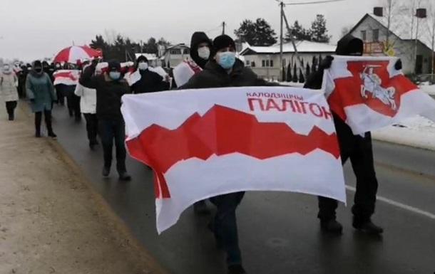 В Беларуси прошел Марш народного обвинения