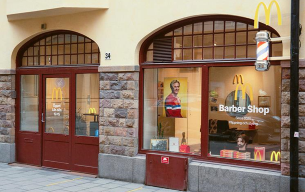 McDonald's открыл барбершоп, где делают одну прическу