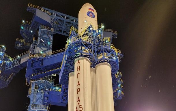 В РФ произвели запуск тяжелой ракеты Ангара-А5