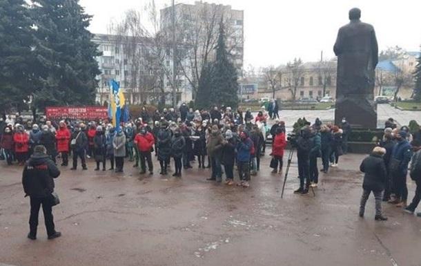 В Житомире предприниматели протестуют из-за карантина
