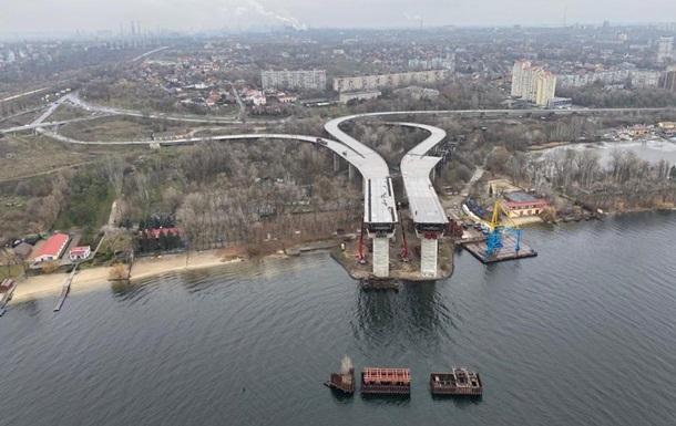 Запорожский мост испытали грузовиками