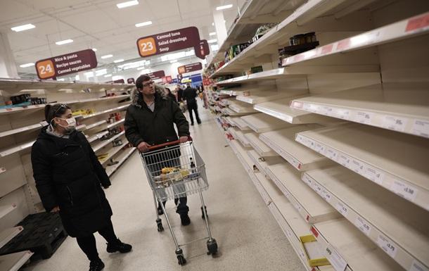 Ожидается голод. Великобритания готова к Brexit без соглашения